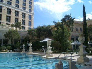 Social Group Holidays Las Vegas - Bellagio Hotel Pool