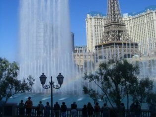 Social Group Holidays Las Vegas - Bellagio Fountains