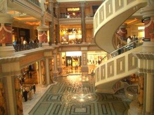 Social Group Holidays Las Vegas - Caesars Palace Shops
