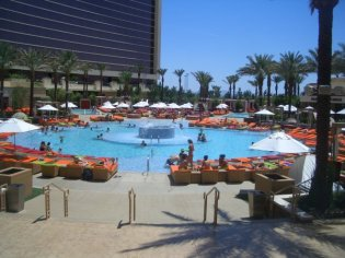 Social Group Holidays Las Vegas - Red Rock Hotel Pool